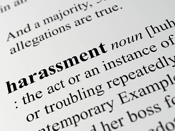 harassment stock photo