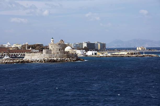 Hafen auf der Insel Rhodos, Griechenland – Foto