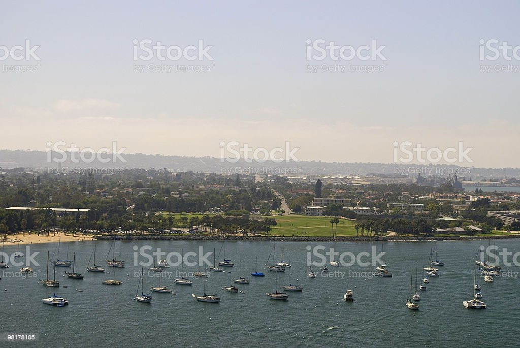 Harbor Boats royalty-free stock photo