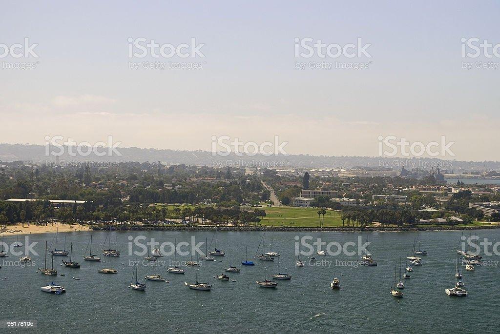 Porto imbarcazioni foto stock royalty-free
