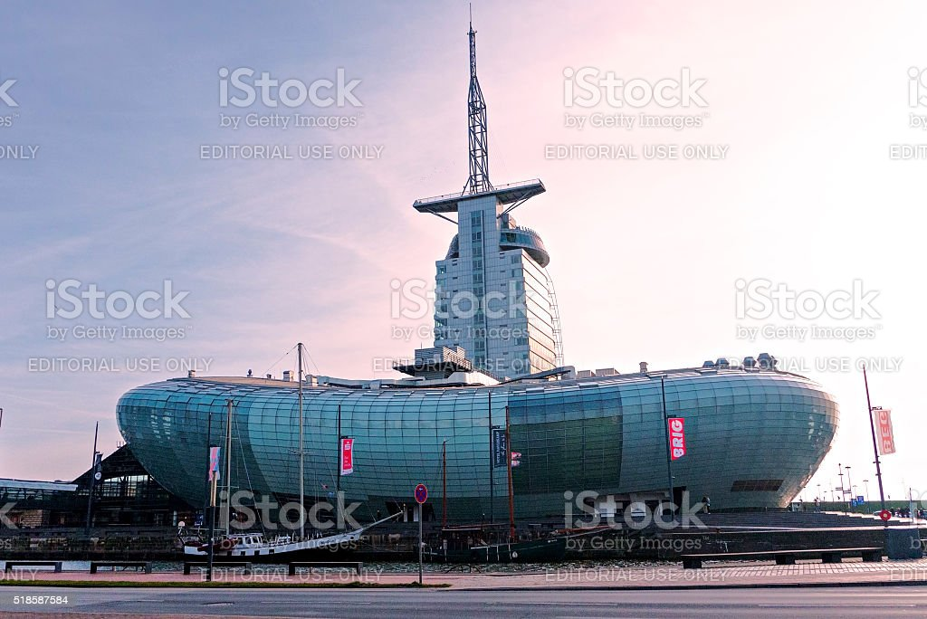 Puerto Bremerhaven - foto de stock