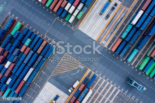 istock Harbor colorful containers 1142724418
