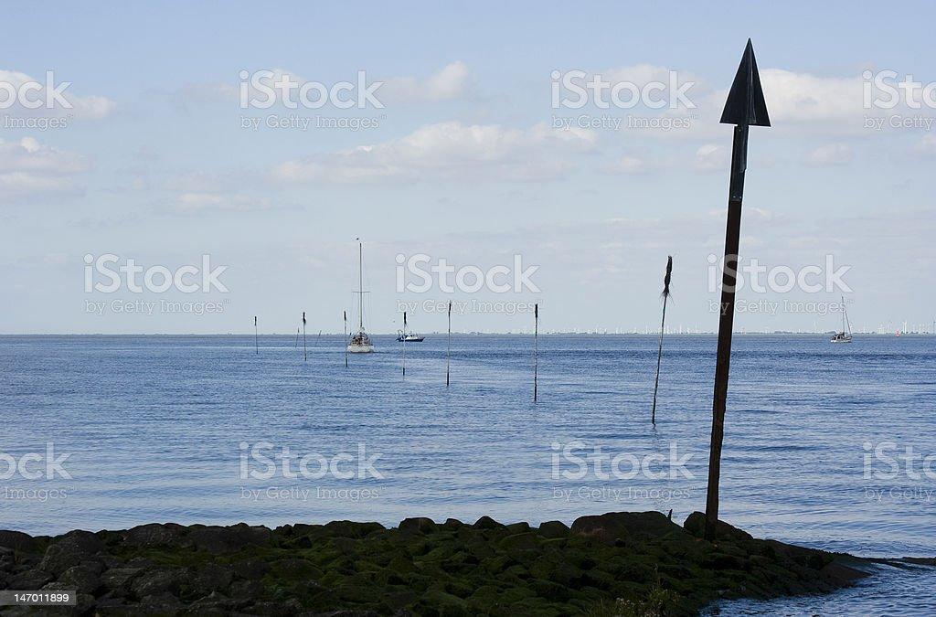 Eingang zum Hafen – Foto