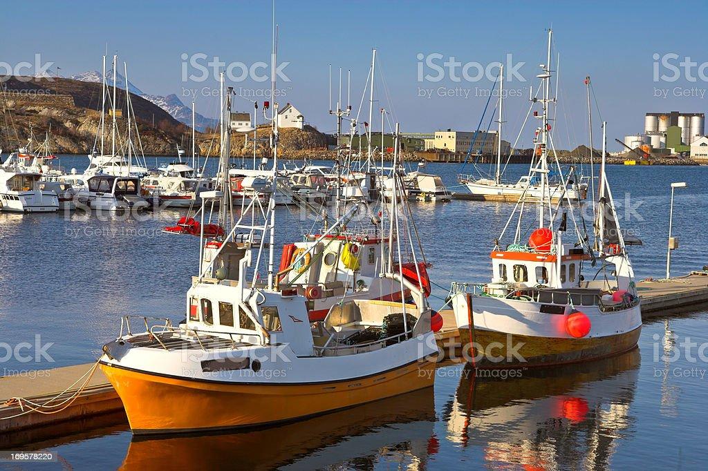 Hafen in Norwegen – Foto