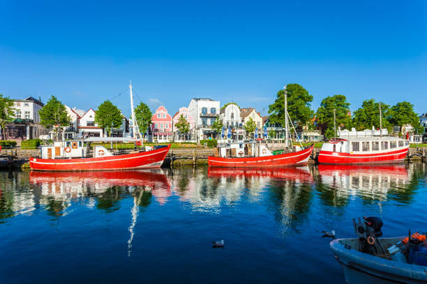 Harbor in Warnemünde – Foto