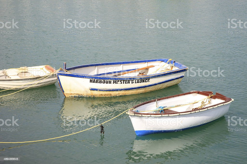 Harbor Masters Launch stock photo