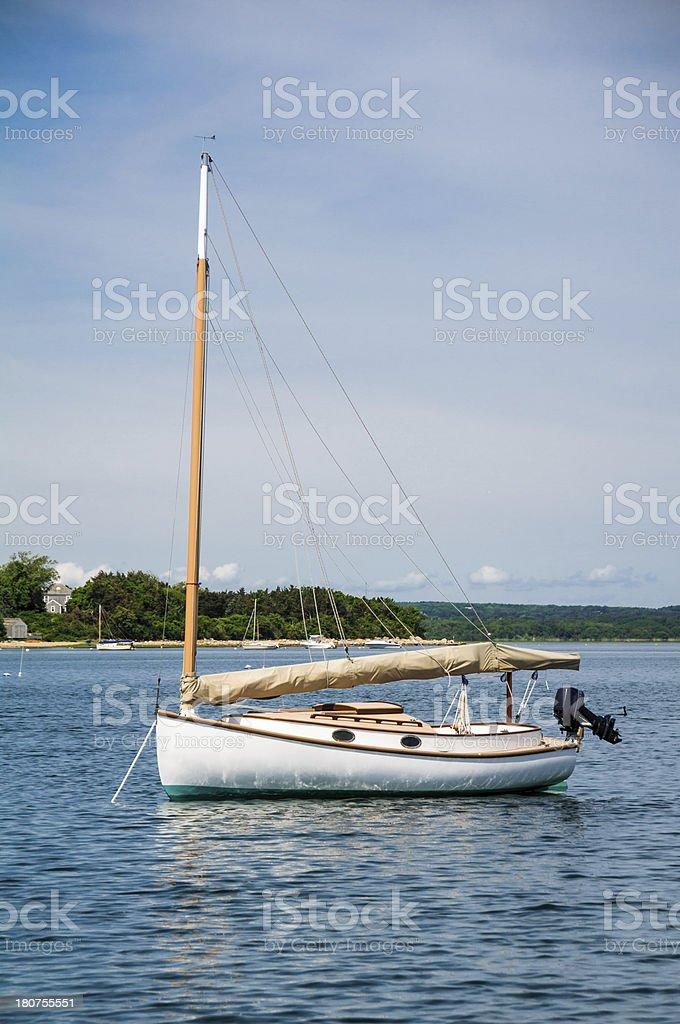 Harbor Mooring royalty-free stock photo