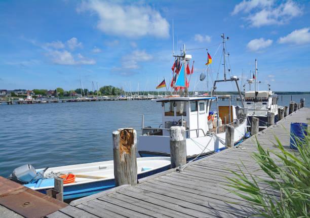 Hafen von Breege-Juliusruh, Baltikum, Rügen, Deutschland – Foto