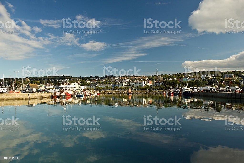 Harbor of Dublin Howth, Ireland royalty-free stock photo