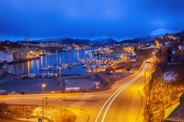 Hafen von Kristiansund Zentrum – Foto