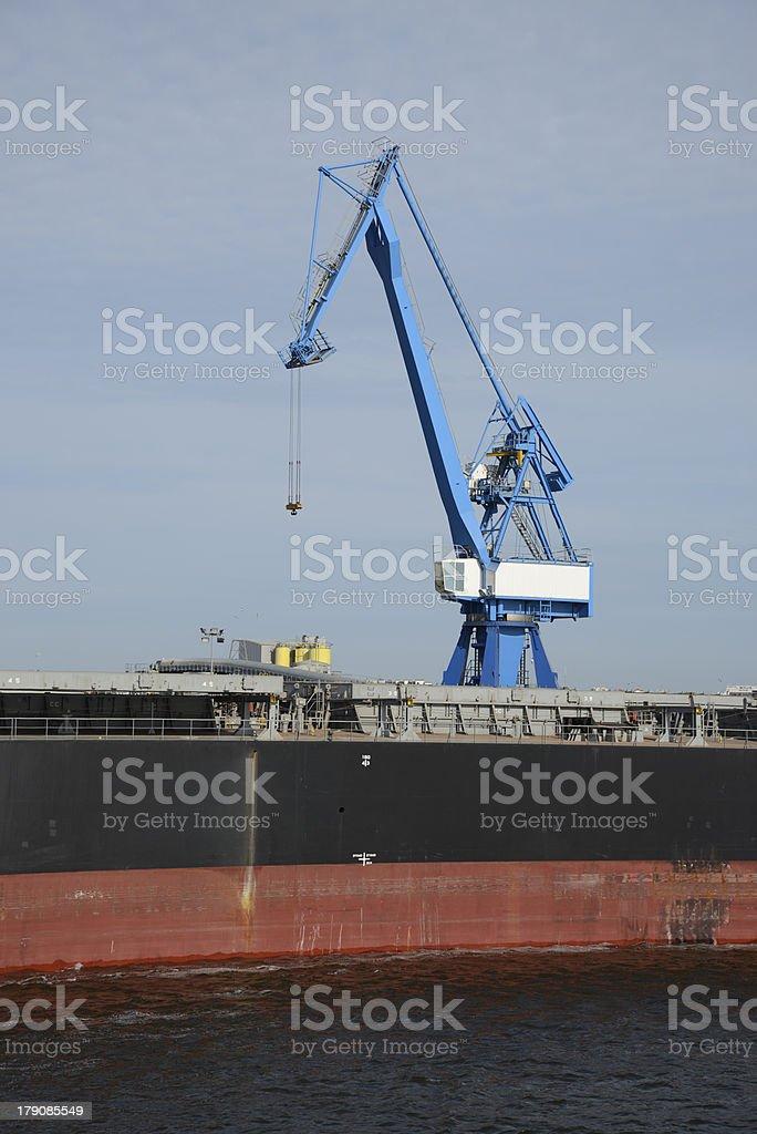 Harbor of Lorient, Bretagne, France royalty-free stock photo