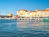 View of Saint-Tropez, south of France, French Riviera
