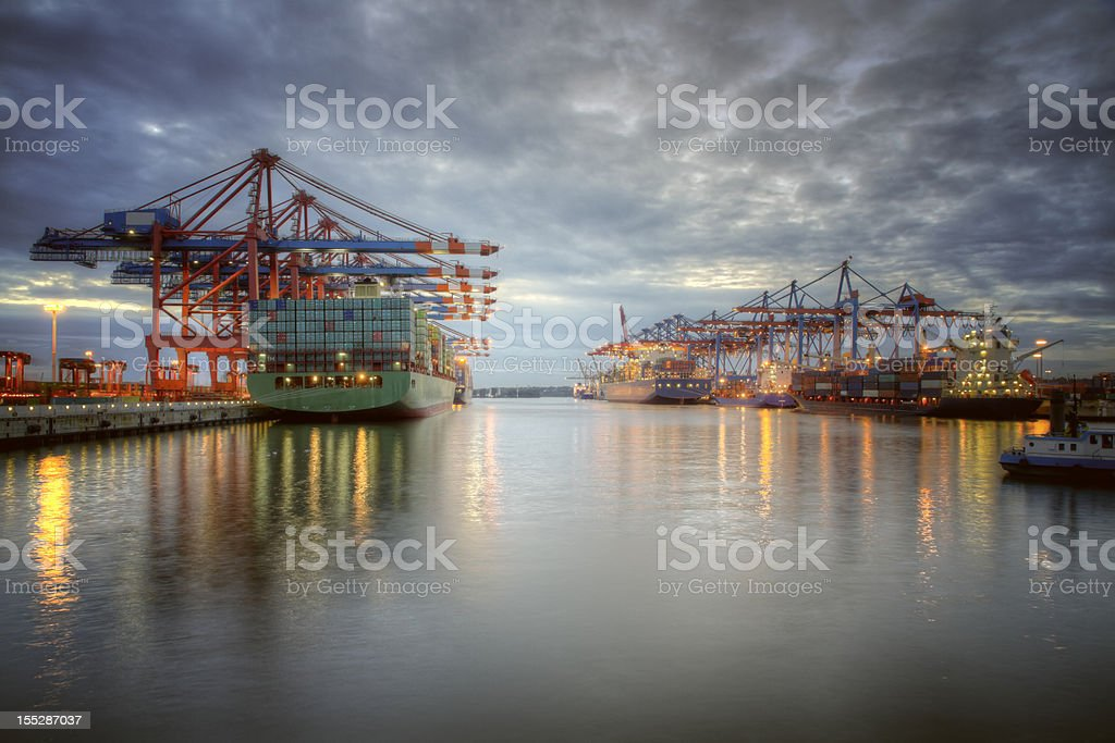 Harbor royalty-free stock photo