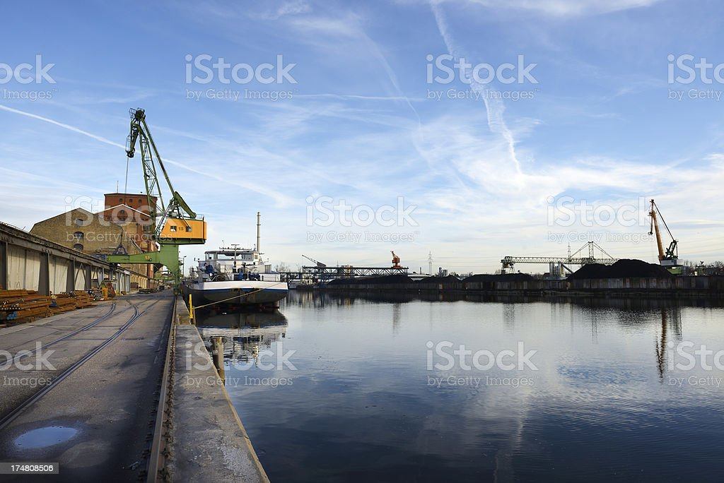 Harbor royalty-free stock photo
