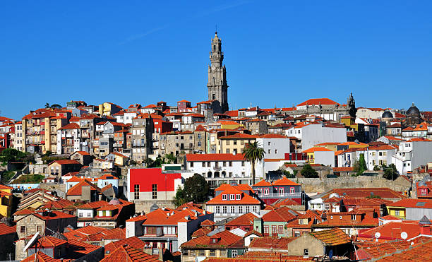 Porto Porto city center, Portugal clergy stock pictures, royalty-free photos & images