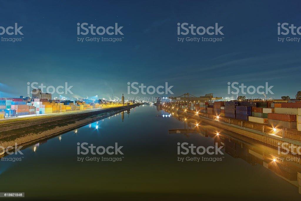 Harbor stock photo
