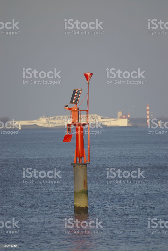 Harbor Signs royalty-free stock photo