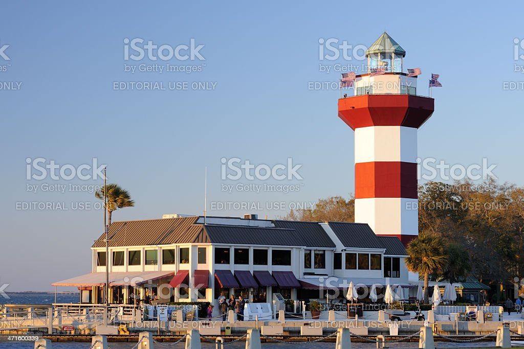 Harbor Town royalty-free stock photo