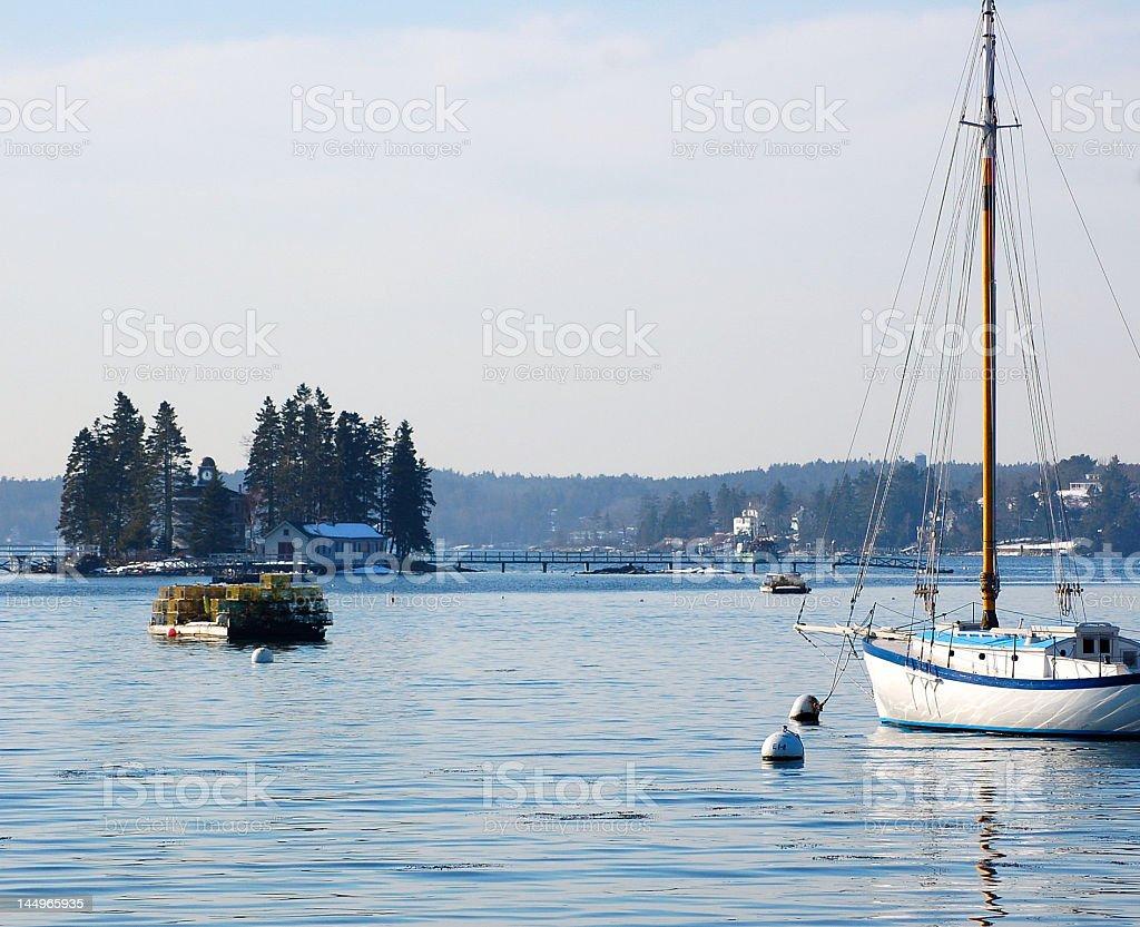 Harbor View stock photo