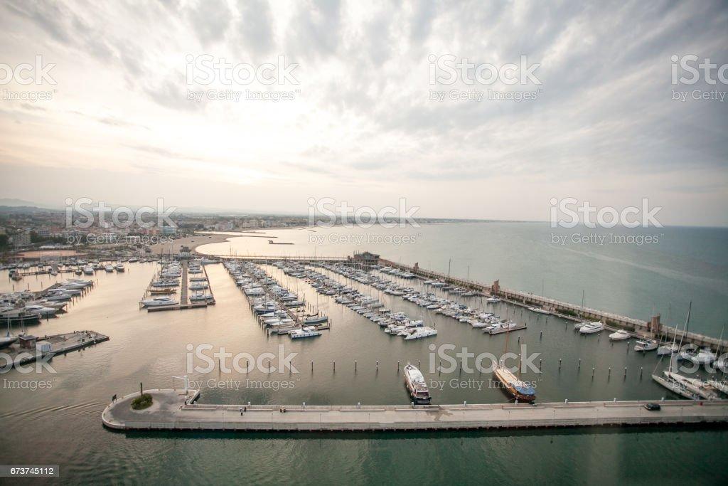 Harbor view royalty-free stock photo