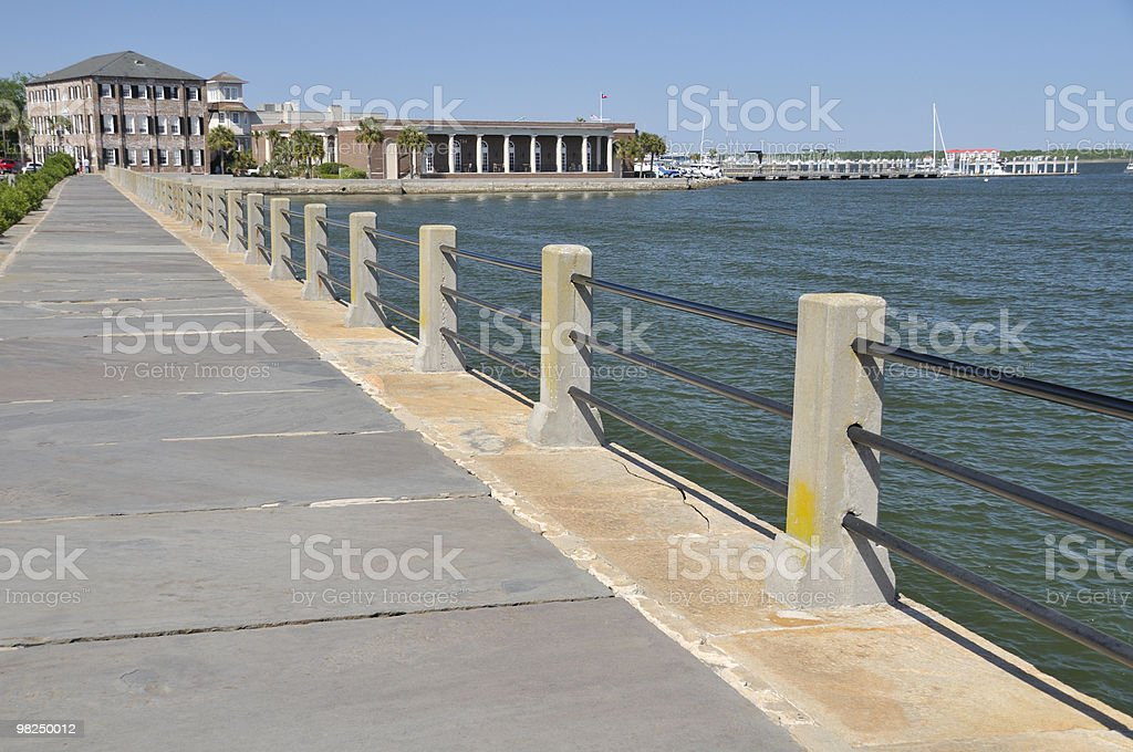 Harbor Walk, Charleston, South Carolina royalty-free stock photo