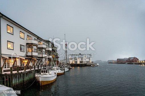 Henningsvaer, Lofoten islands.