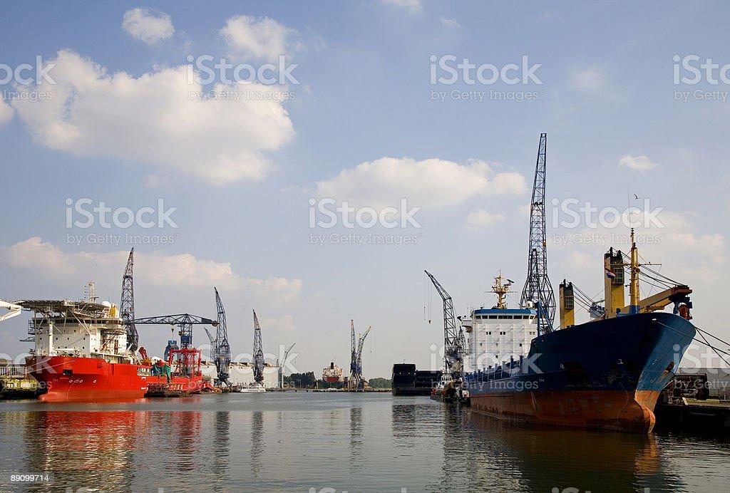 Puerto 2 foto de stock libre de derechos