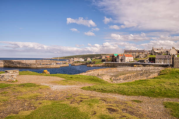 Harbour at Portsoy on Moray Firth – Foto