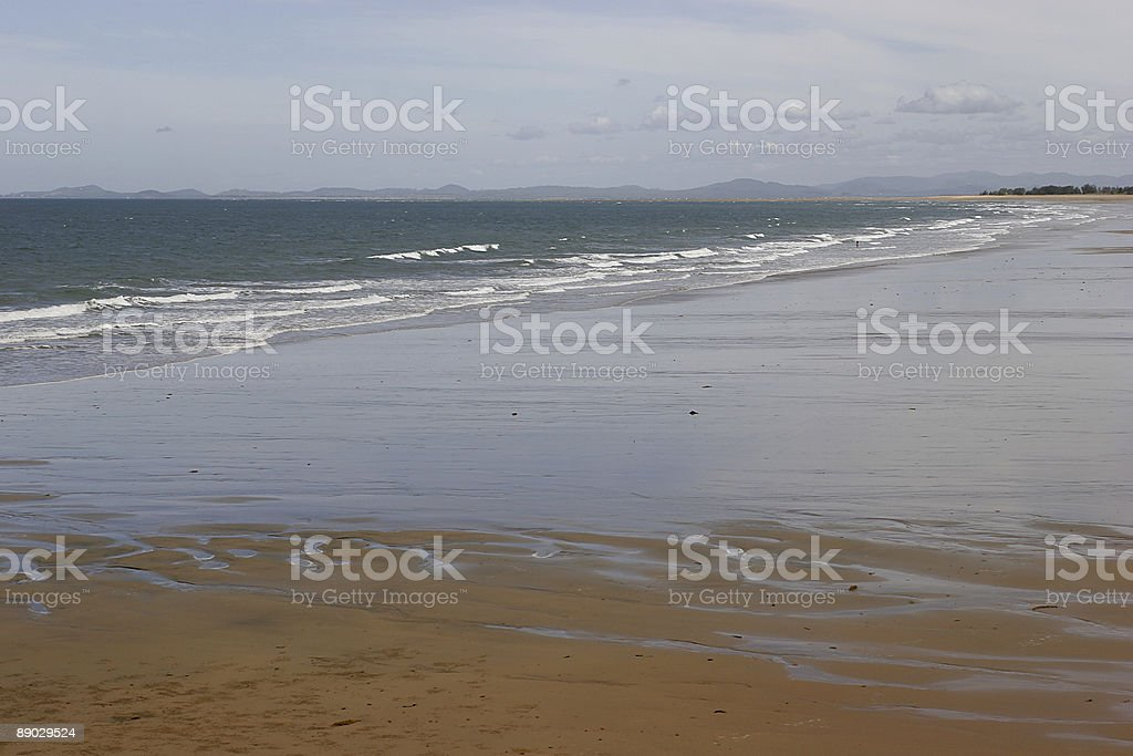 Harbour Beach Mackay royalty-free stock photo
