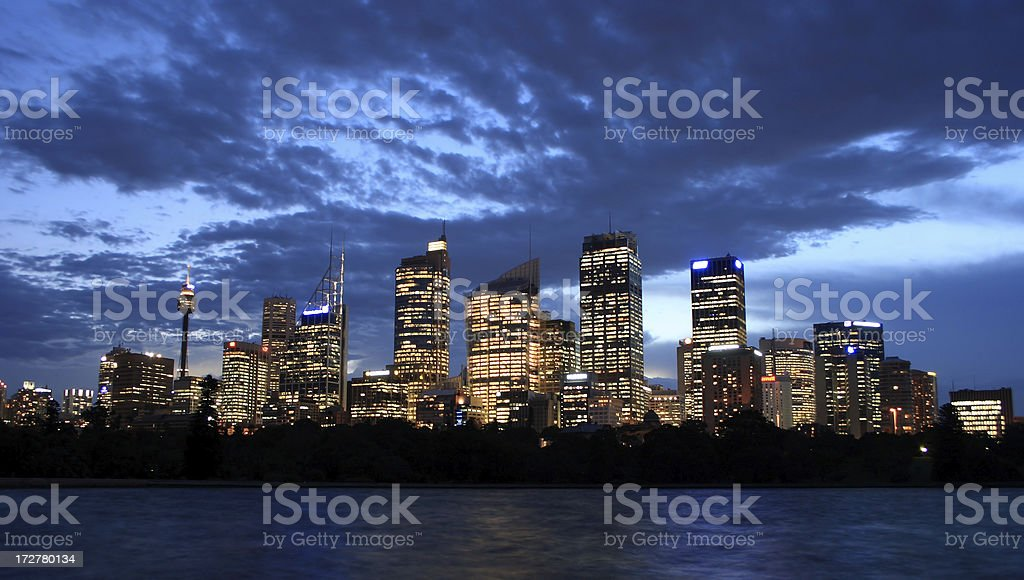 Harbour Bridge Detail royalty-free stock photo