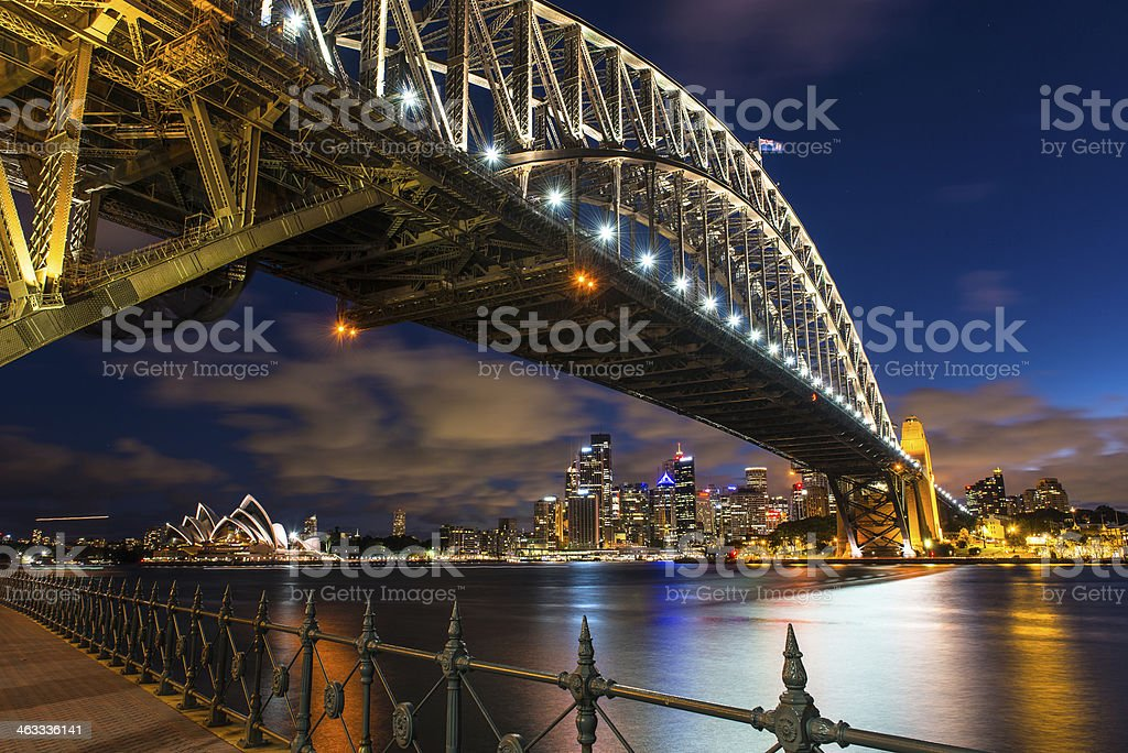 Harbour Bridge stock photo