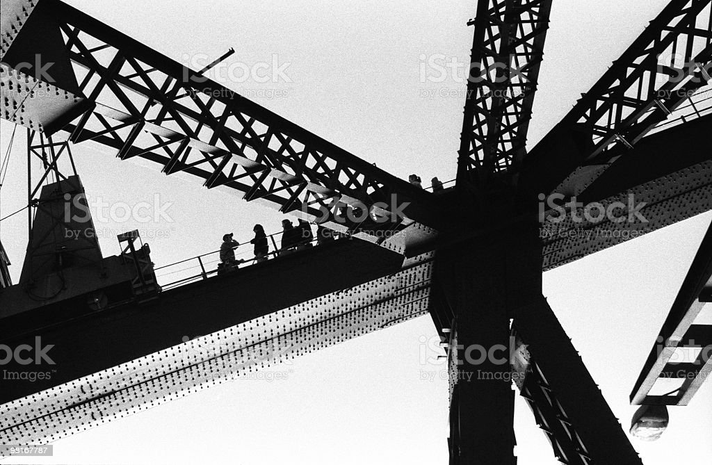 Harbour Bridge, Sydney royalty-free stock photo