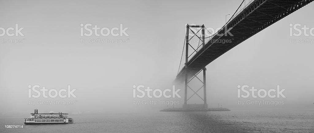 Harbour Crossing stock photo