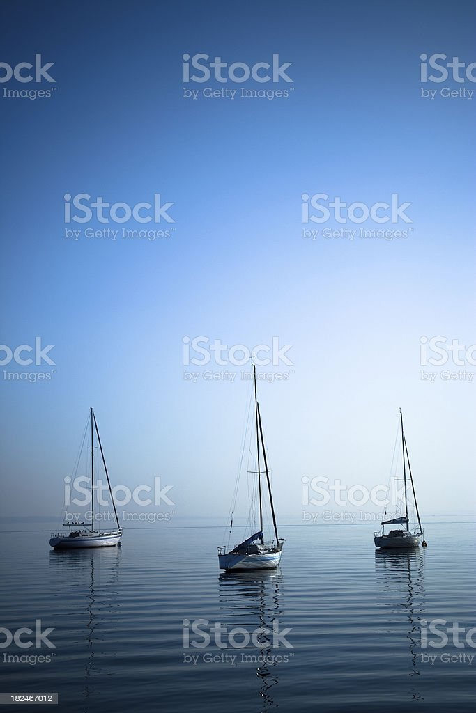 harbour night royalty-free stock photo