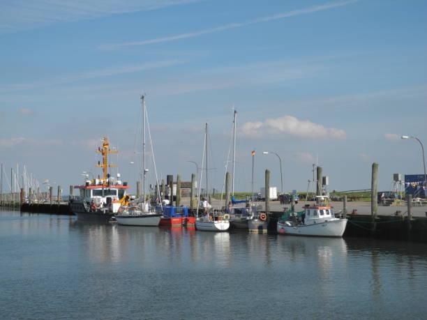 Hafen von Pellworm, Deutschland – Foto