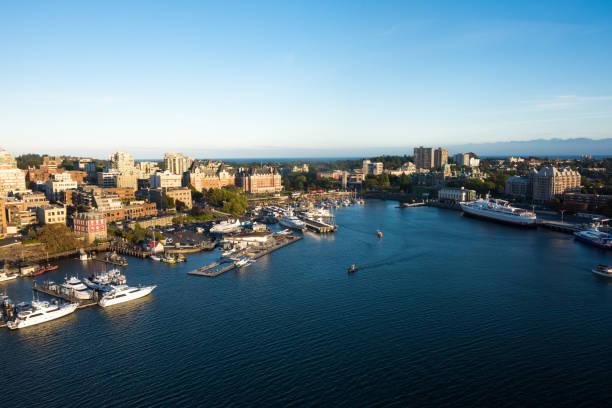 Hafen von Victoria, BC, Kanada – Foto