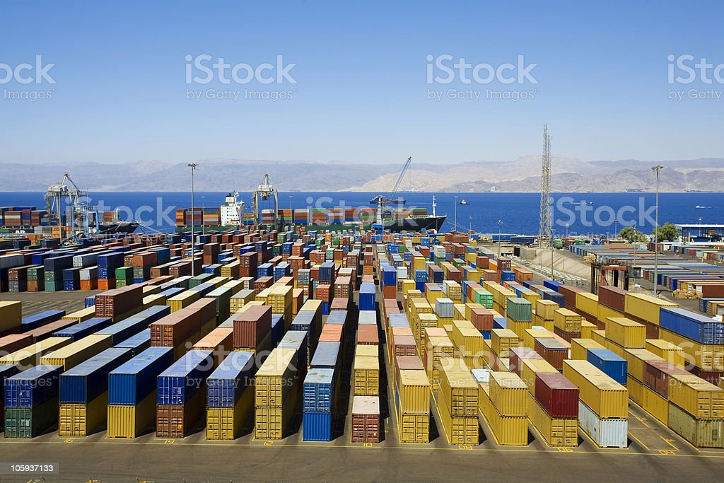 Harbour stock photo