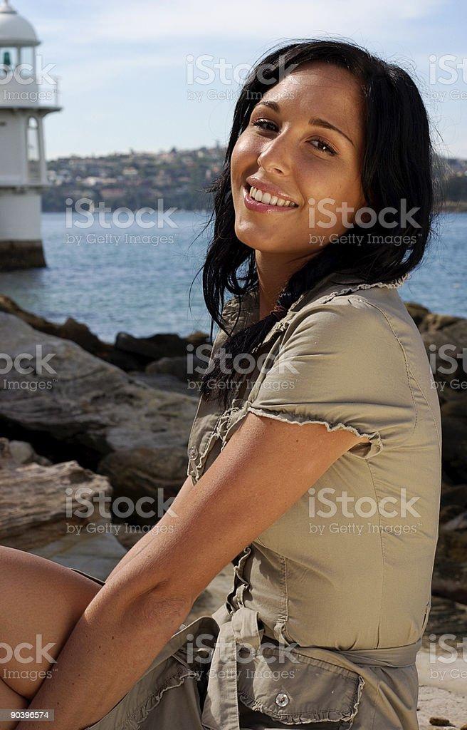 Harbour Portrait Series royalty-free stock photo