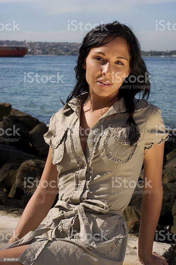 Harbour Portrait Series royalty-free stock photo