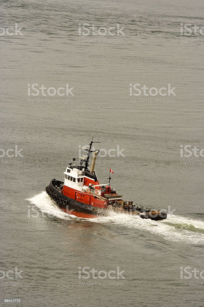 harbour rescue boat royalty-free stock photo