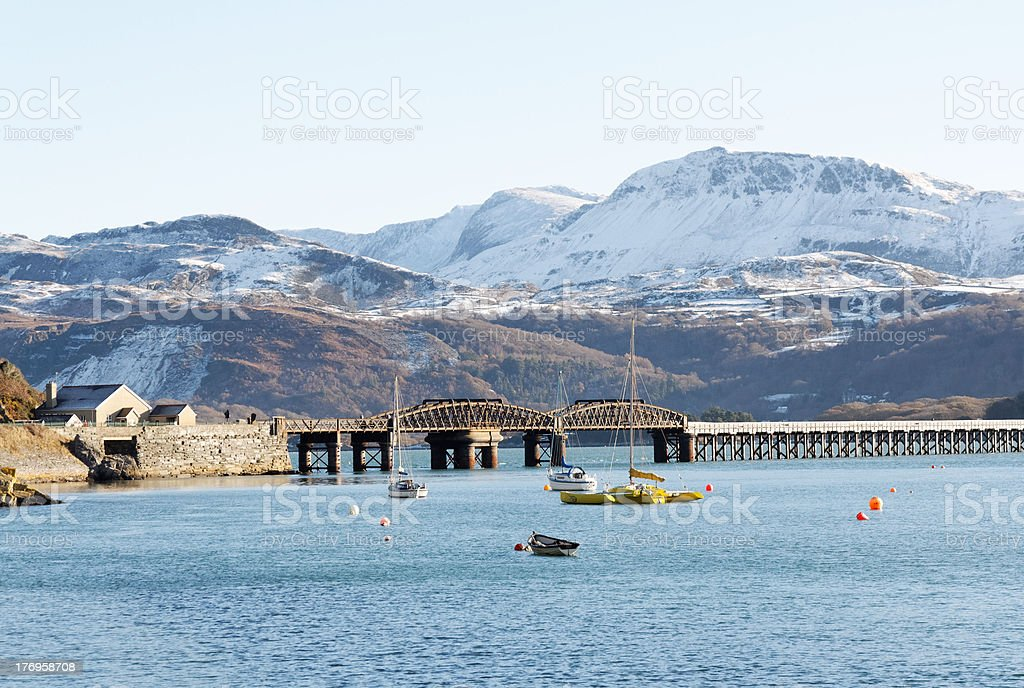 Harbour views royalty-free stock photo