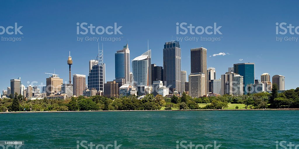 Harbour Vista royalty-free stock photo