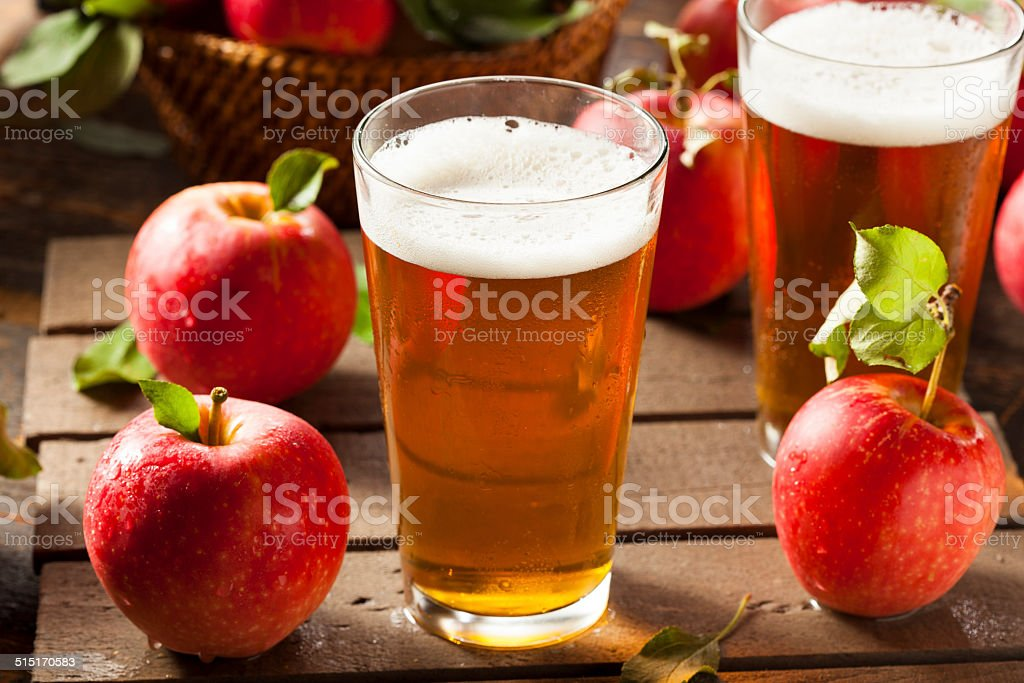 Hard Apple Cider Ale - Royalty-free Alcohol Stock Photo