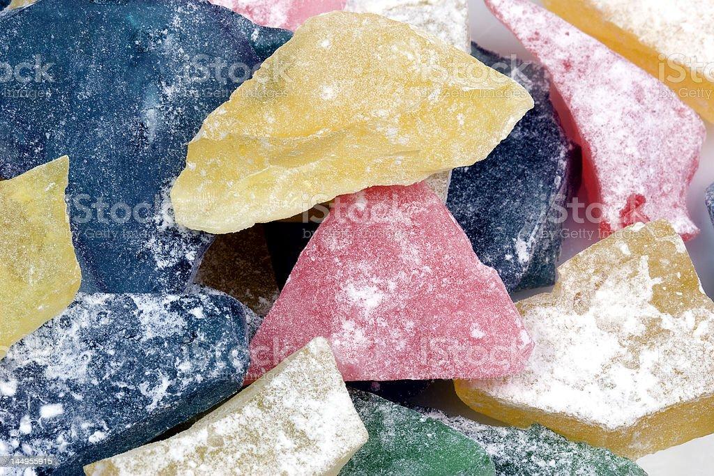 Hard Candy Closeup royalty-free stock photo