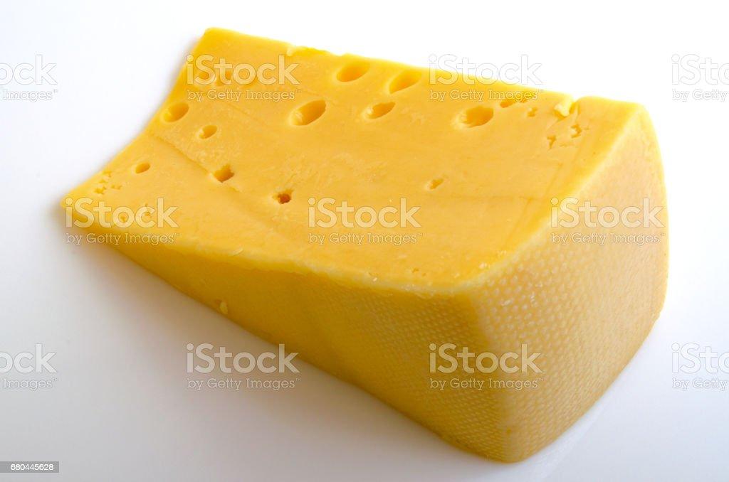 Hard cheese. stock photo