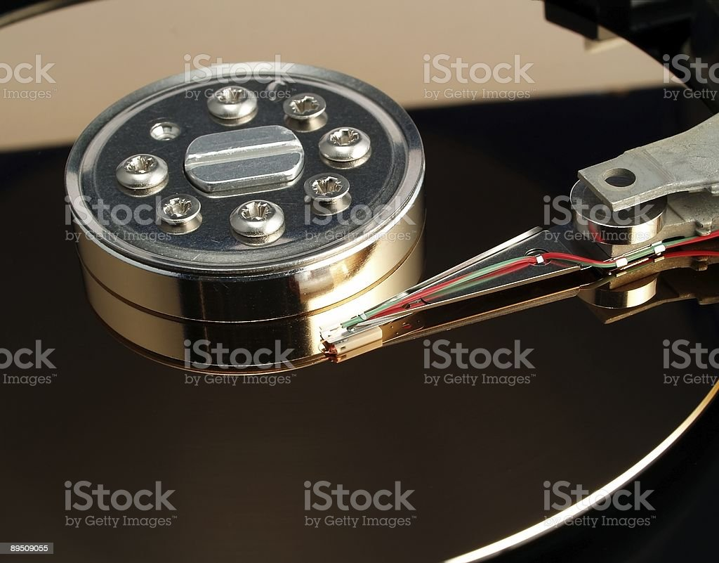 Hard disk drive royalty-free stock photo