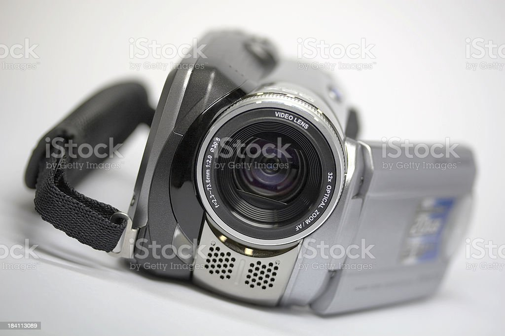 Hard disk HDD digital video camera stock photo