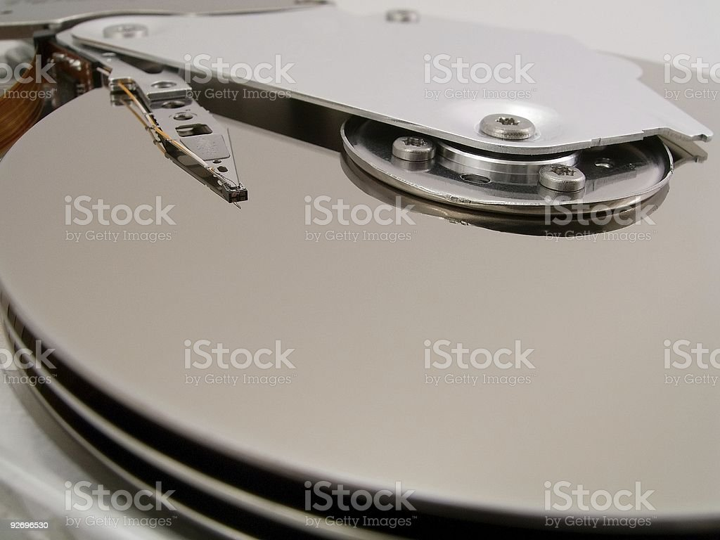 Hard Drive Detail 4 royalty-free stock photo