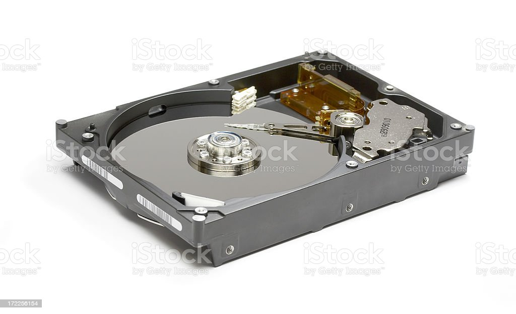 HDD Hard Drive Disk royalty-free stock photo