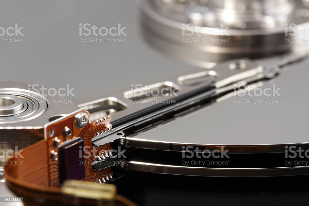 Hard Drive Disk royalty-free stock photo